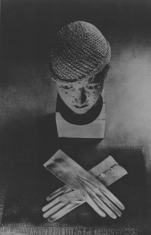 ringl + pit Hat and Gloves, 1931 9.8 x 6.5 inches silver print