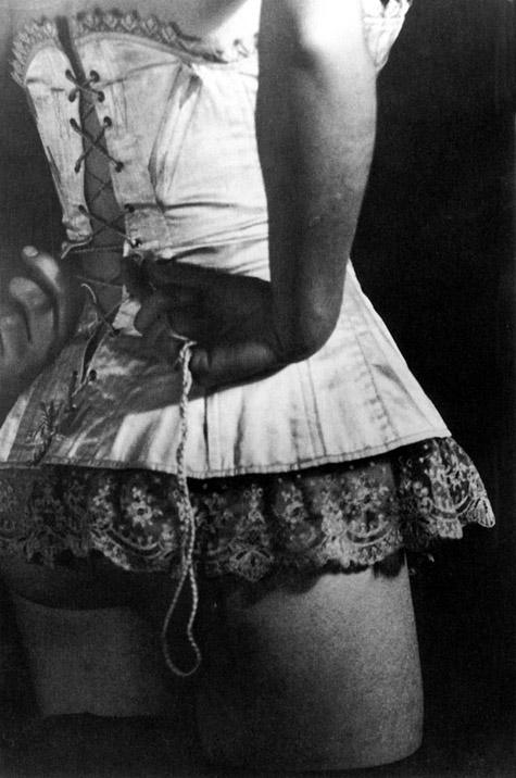 ringl + pit The Corset, 1929 13.25 x 9 inches early silver print