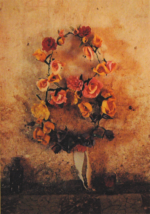 Ellen Auerbach & Eliot Porter Yucatan, Orange Wreath, 1955-56 10 x 7.25 inches vintage dye transfer print mounted on board