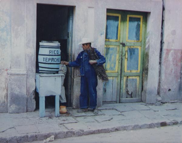 Ellen Auerbach & Eliot Porter Santiago, 1956 9 x 11.25 inches vintage dye transfer print