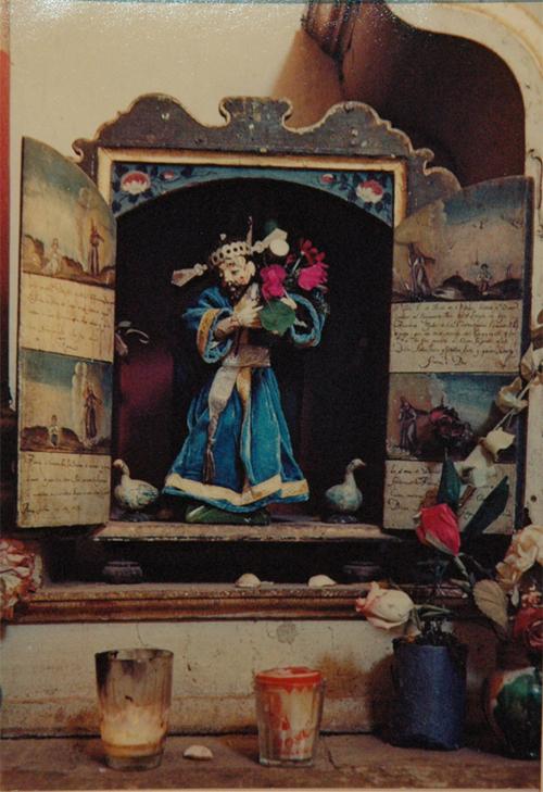 Ellen Auerbach & Eliot Porter Oaxaca, Saint W. Dusk, San Felipe, 1956 10.5 x 7.25 inches vintage dye transfer print mounted to card