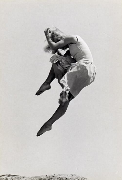 Ellen Auerbach Renate Schottelius, 1946 6.5 x 4.5 inches vintage silver print