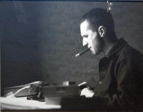 Ellen Auerbach Bertolt Brecht Typing, London, 1935 7.5 x 9.5 silver print