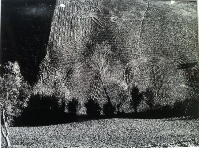"Landscape, from the series ""Passaggio,"" 1974 11.5 x 15.5 inches silver print"