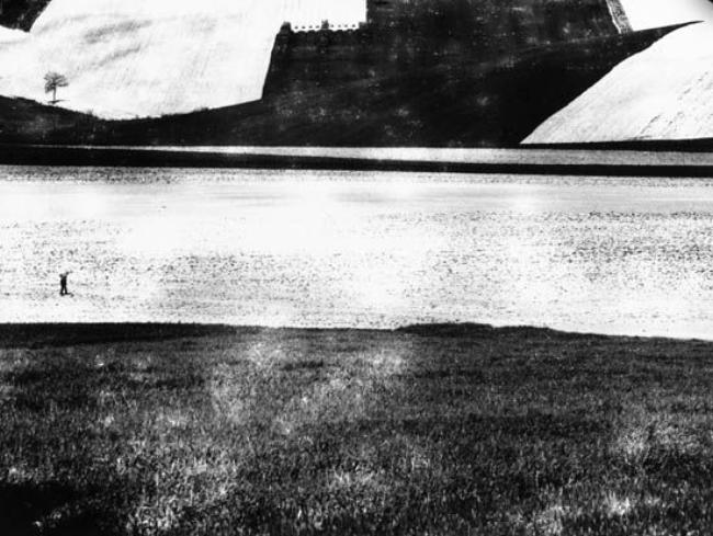 L'Infinito, 1986-1988 11.75 x 15.75 silver print