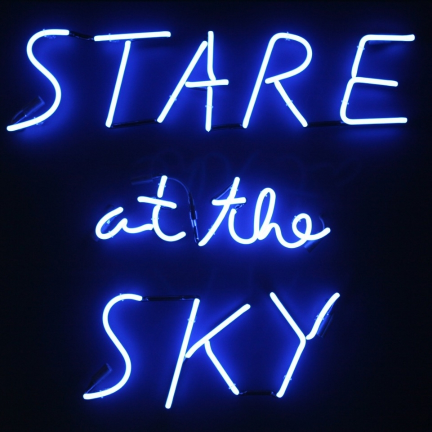 Stare at the Sky, 2015 40 x 41 inches (edition of 3) neon