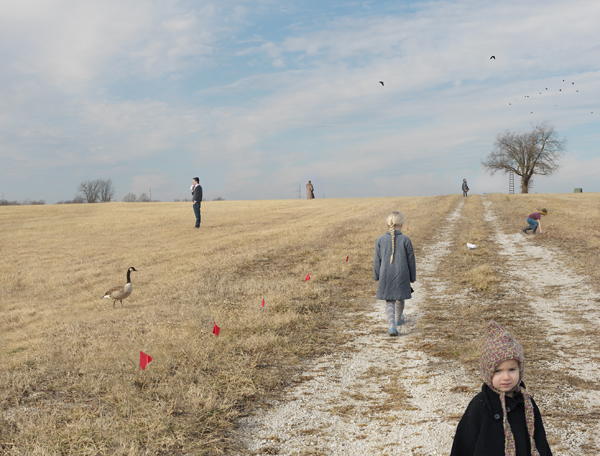 Julie Blackmon Lot for Sale, 2015 24 x 31 inches (edition of 15) 36 x 46 inches (edition of 10) 44 x 57 inches (edition of 5) archival pigment print