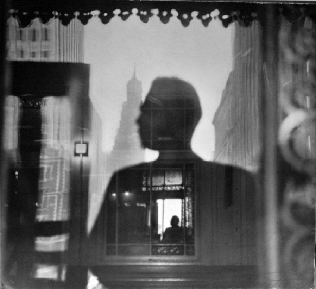 Louis Faurer Self Portrait, 1946 11 x 14 inches silver print