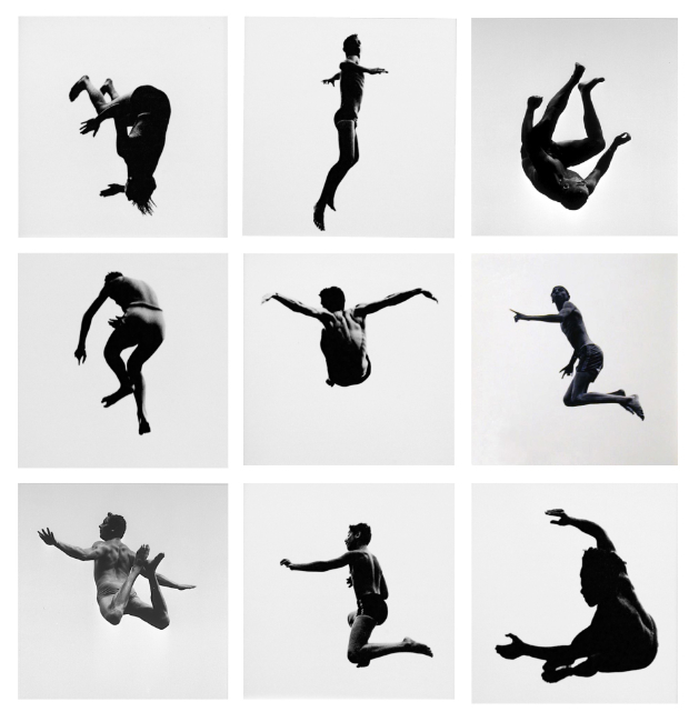 Aaron Siskind Pleasures & Terrors of Levitation, 1954-61 group of nine 14 x 11 inch silver prints