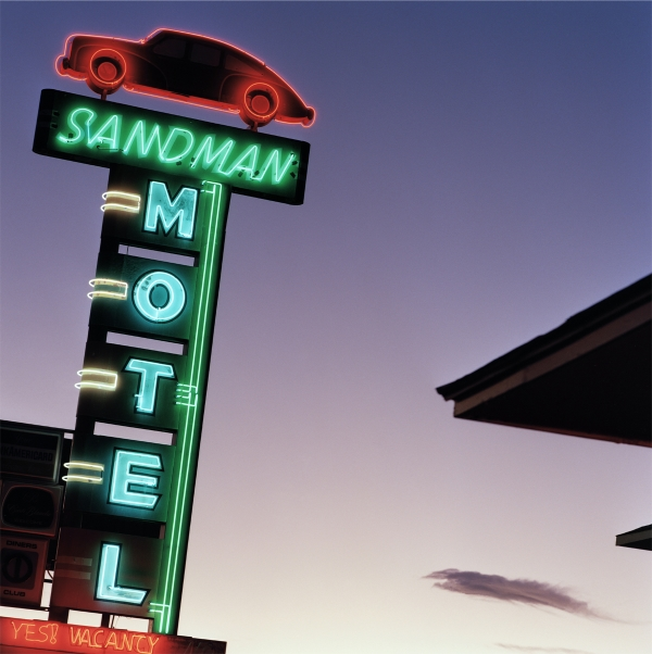 Jeff Brouws Sandman at Night, Reno, Nevada, 1995 24 x 20 inches (edition of 20) 38 x 38 inches (edition of 10) archival pigment print