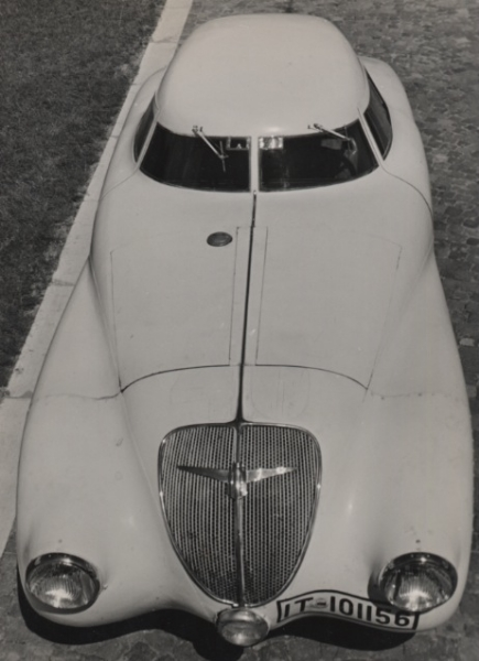 Elisabeth Hase Adler, A Car, 1937 9.5 x 7 inches vintage silver print