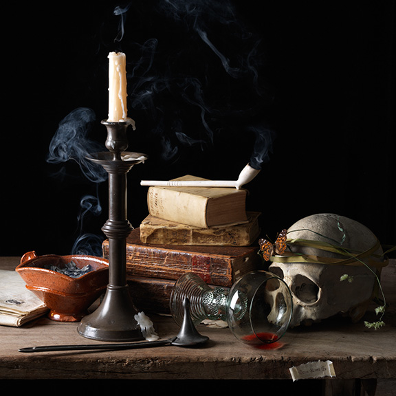 Vanitas IV (Dreams) after A.C., 2015 16 x 16 inches (edition of 15) 24 x 24 inches (edition of 7) 36 x 36 inches (edition of 5)  archival pigment print