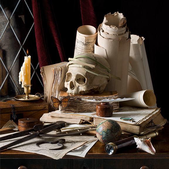 Vanitas V (Journeys) after E.C., 2015 16 x 16 inches (edition of 15) 24 x 24 inches (edition of 7) 36 x 36 inches (edition of 5)  archival pigment print