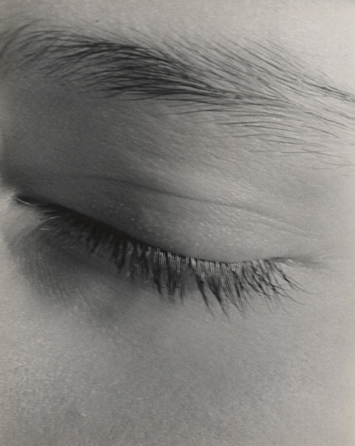 Untitled (detail of face), 1947 9 x 7 inches vintage silver print
