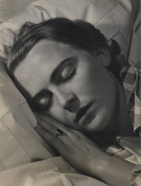 Untitled (sleeping woman), 1932-33 9 x 7 inches vintage silver print