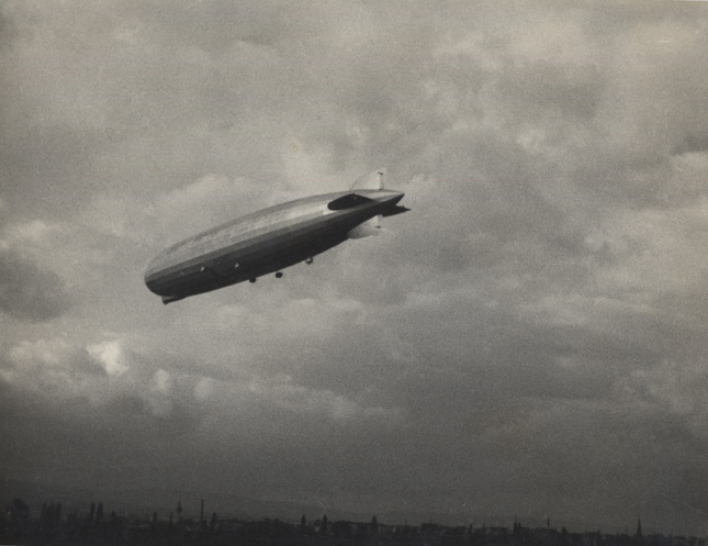 Untitled (zeppelin), c. 1930 7 x 9 inches vintage silver print