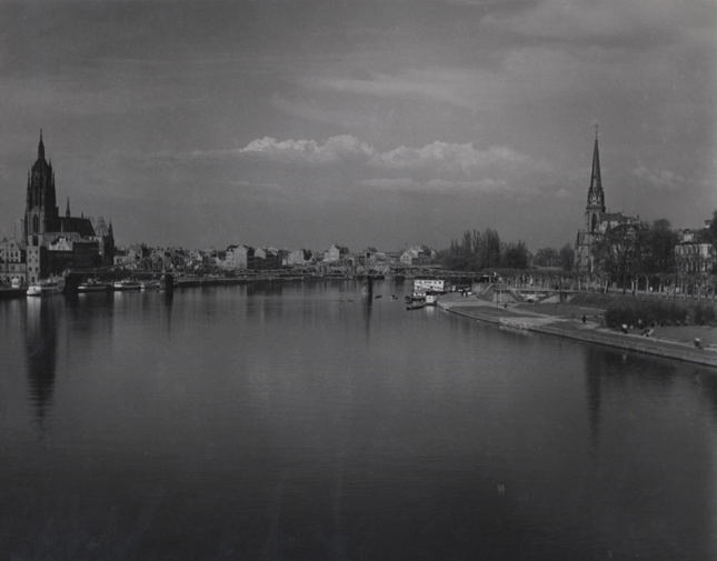 Frankfurt, 1947-48 7 x 9 inches vintage silver print