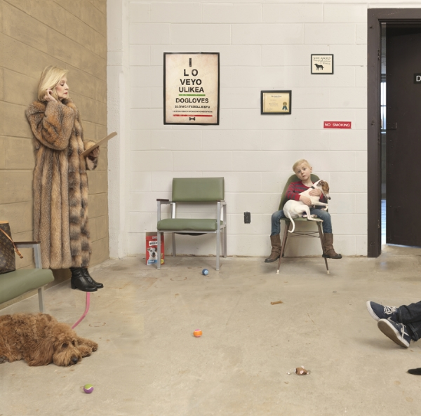 Waiting Room, 2016 26 x 26 inches (edition of 10) 35.75 x 35.75 inches (edition of 7) 44 x 44 inches (edition of 5) archival pigment print