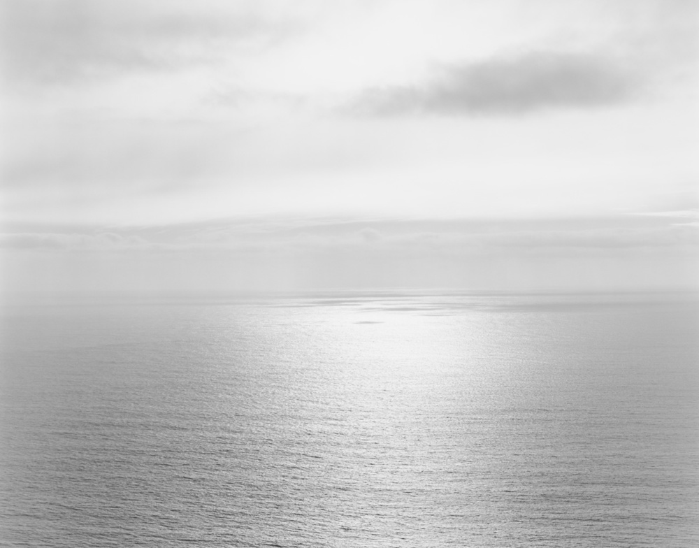 Coast Lands, Pacific Ocean, 2012 20 x 24 inches (edition of 25) 26 x 32 inches (edition of 10) 44.25 x 56 inches (edition of 5) silver print