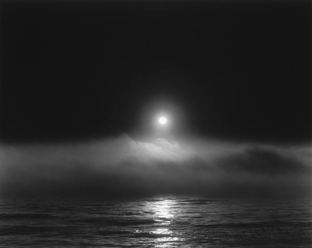 Evening Clouds, Pacific Ocean, 2012 20 x 24 inches (edition of 25) 26 x 32 inches (edition of 10) 44.25 x 56 inches (edition of 5) silver print