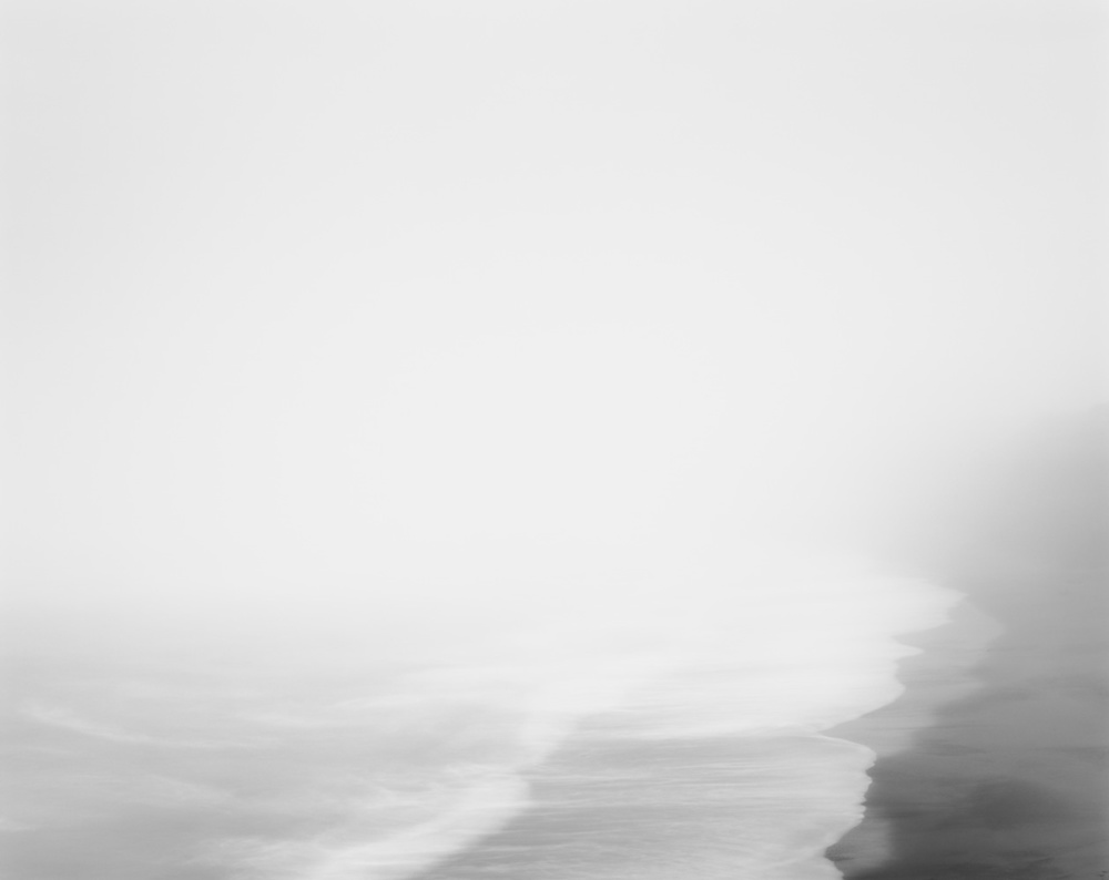 Fog, Black Point Beach, Pacific Ocean, 2009 20 x 24 inches (edition of 25) 26 x 32 inches (edition of 10) 44.25 x 56 inches (edition of 5) silver print