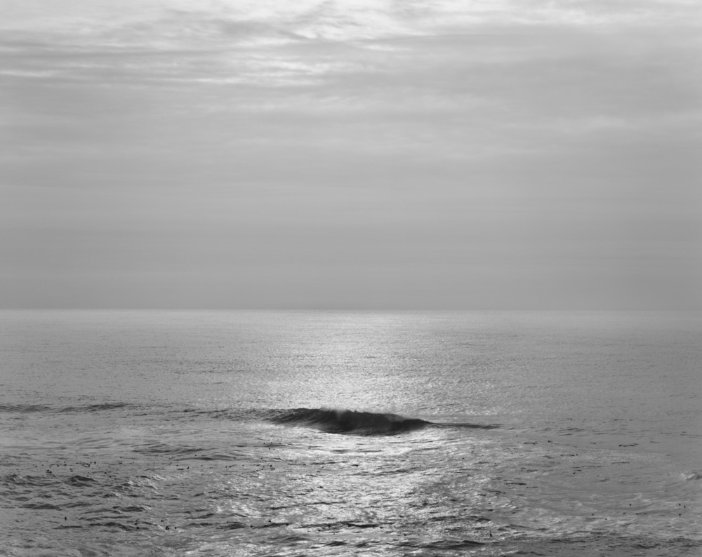 Single Wave, Pacific Ocean, 2010 20 x 24 inches (edition of 25) 26 x 32 inches (edition of 10) 44.25 x 56 inches (edition of 5) silver print