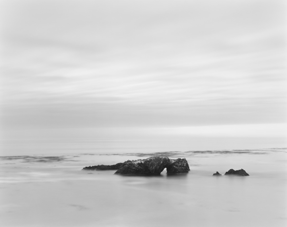 Arch Rock, Pacific Ocean, 2012 20 x 24 inches (edition of 25) 26 x 32 inches (edition of 10) 44.25 x 56 inches (edition of 5) silver print