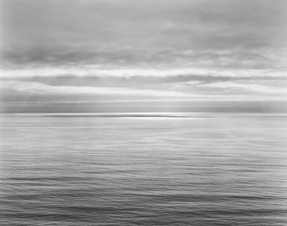 Jenner Grade, Pacific Ocean, 2012 20 x 24 inches (edition of 25) 26 x 32 inches (edition of 10) 44.25 x 56 inches (edition of 5) silver print