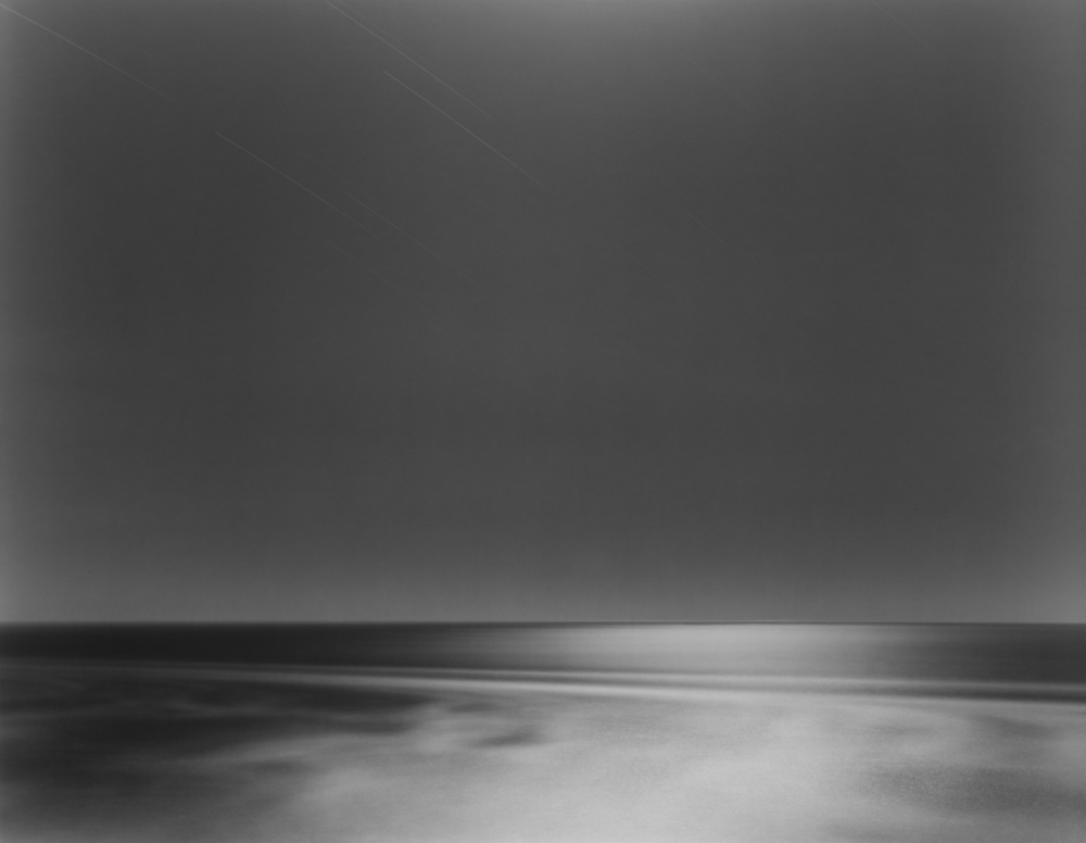 Moonlight, Mendocino, Pacific Ocean, 2004 20 x 24 inches (edition of 25) 26 x 32 inches (edition of 10) 44.25 x 56 inches (edition of 5) silver print