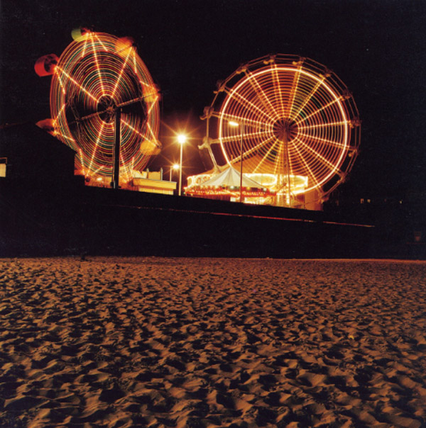 Jeff Brouws Boardwalk and Sand, Santa Cruz, CA, 1994 24 x 20 inches archival pigment print