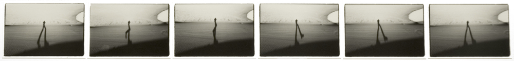 Michel Szulc-Krzyzanowski Great Sand Dunes (15 November 1979) sequence of six 2.5 x 4 inch vintage silver prints