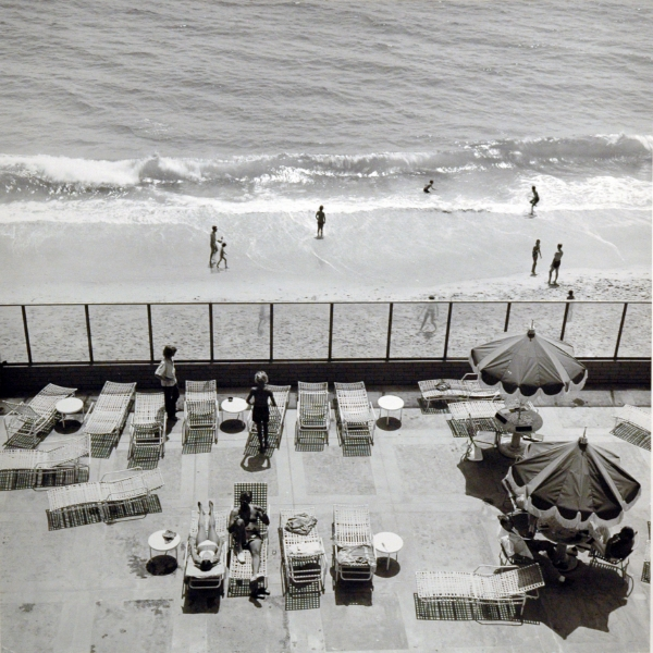 Joe Deal Laguna Beach, California from the series: Beach Cities, 1978 17.75 x 17.75 inches vintage silver print