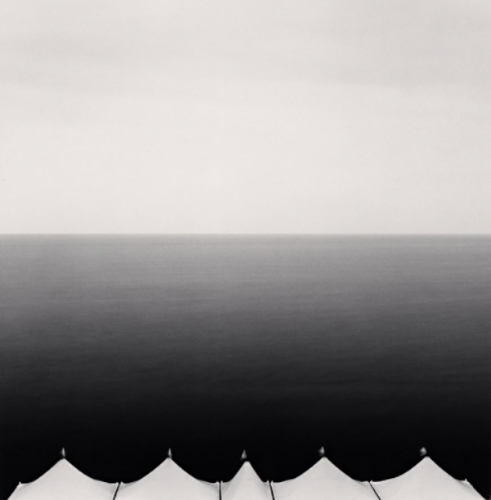 Michael Kenna Five Canopies, Granville, 2007 7.75 x 7.75 inches toned silver print