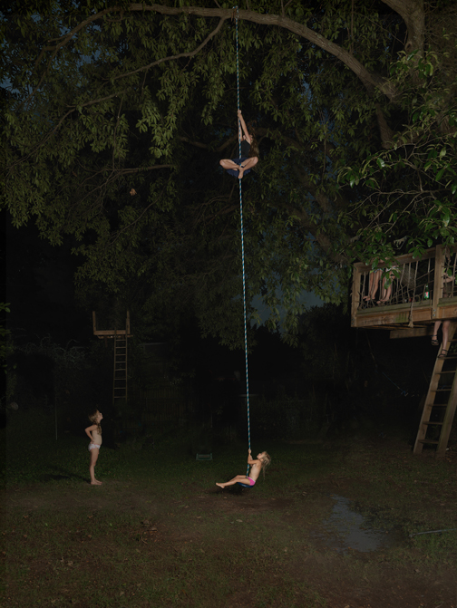 Rope Swing, 2016 31 x 24 inches (edition of 10)  46 x 36 inches (edition of 7)  57 x 44 inches (edition of 5) archival pigment print