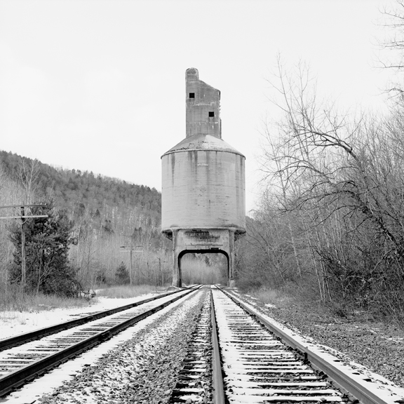 Coaling Tower #20, 2013 38 x 38 inches (edition of 7) archival pigment print
