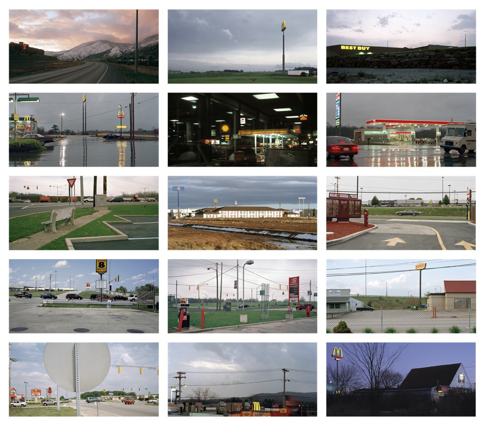 Best Buy: Fifteen Photographs of the Franchised Landscape, 1997-2009 10 x 16 inches each (edition of 9) archival pigment print