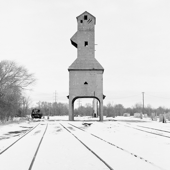 Coaling Tower #65, 2013 38 x 38 inches (edition of 7) archival pigment print