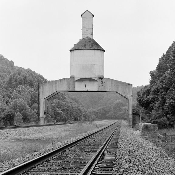 Coaling Tower #72, 2014 38 x 38 inches (edition of 7) archival pigment print