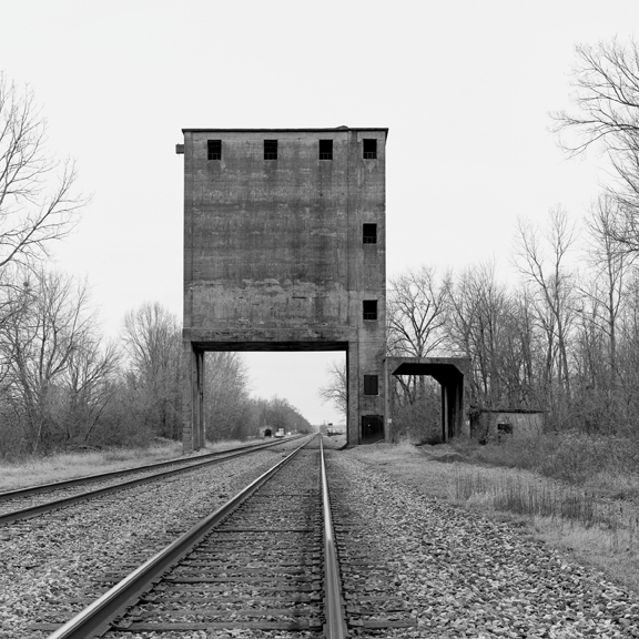 Coaling Tower #94, 2014 38 x 38 inches (edition of 7) archival pigment print