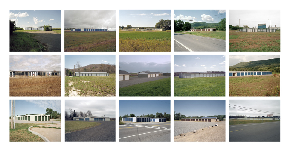 Storage Units, 2001-2010 9.5 x 11 inches each (edition of 11) archival pigment print