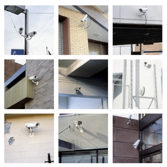 Surveillance Cameras Portfolio, 2000-2016 12 x 12 inches each (edition of 9) archival pigment print