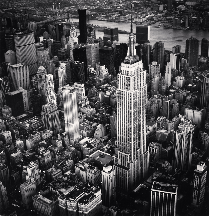 Empire State Building, Study 6, New York, New York, 2010 16 x 20 inches (edition of 4) toned silver print