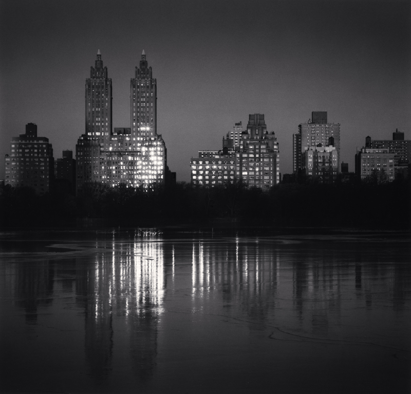 Sunrise on Eldorado, New York, New York, 2010 8 x 7.5 inches (edition of 25) toned silver print