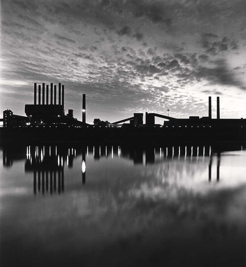 The Rouge, Study 14, Dearborn, Michigan, 1993 8.375 x 7.75 inches (edition of 45) toned silver print