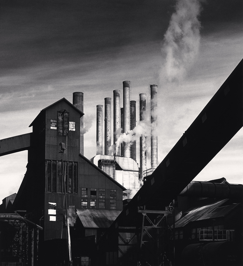 The Rouge, Study 140, Dearborn, Michigan, 1994 16 x 20 inches (edition of 4) toned silver print