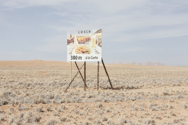 Lunch, Namibia, 2015 24 x 35.5 inches (edition of 6) 29.5 x 43.5 inches (edition of 6) archival pigment print