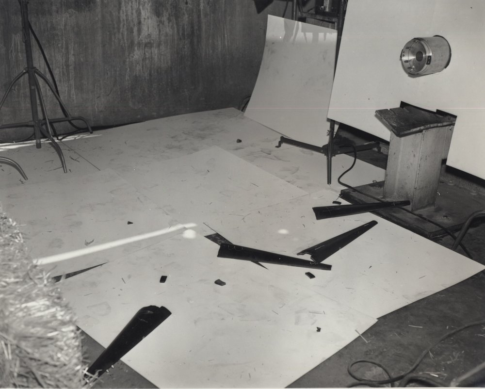 Mike Mandel & Larry Sultan    Untitled, Evidence , 1977  Silver print  8 x 10 inches