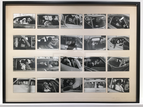 People in Cars, 1970-1973  20 vintage silver prints mounted to a 30 x 40 inch board  (Select individual images as vintage silver prints are available) (Limited edition portfolio available)