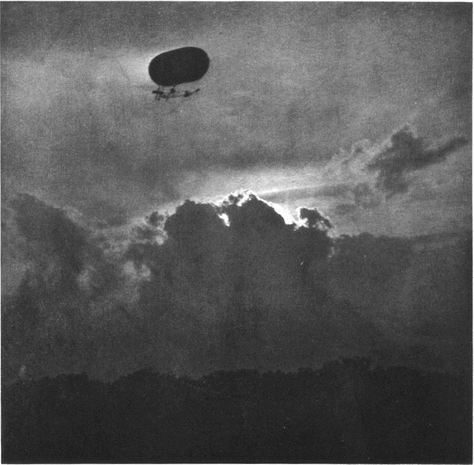 Dirigible , Oct. 1911  photogravure  7 x 7 inches