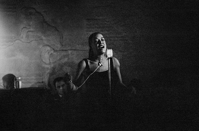 Billie Holiday, NYC , 1953  Silver print  16 x 20 inches  Edition of 50